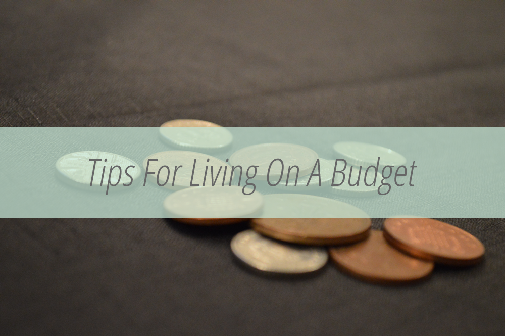Living on a budget advice