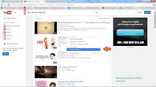 bagaimana download video pilihan di youtube