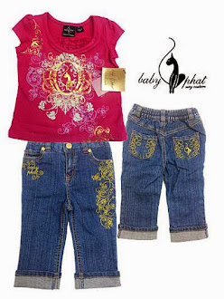 Clearance Stock : RM35 - Set 2pcs Brand Baby Phat