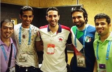 أبو تريكة يصل قناة (بي إن سبورتس) الجزيرة الرياضية سابقا لتحليل مباريات كأس العالم
