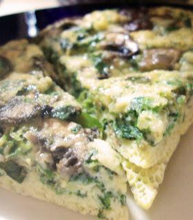 Spinach Mushroom Frittata