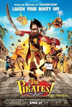Hoa Vương Hải Tặc - The Pirates! Band Of Misfits (2012) Poster