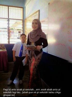 Guru Cantik Berkebaya Ketat Di Kecam