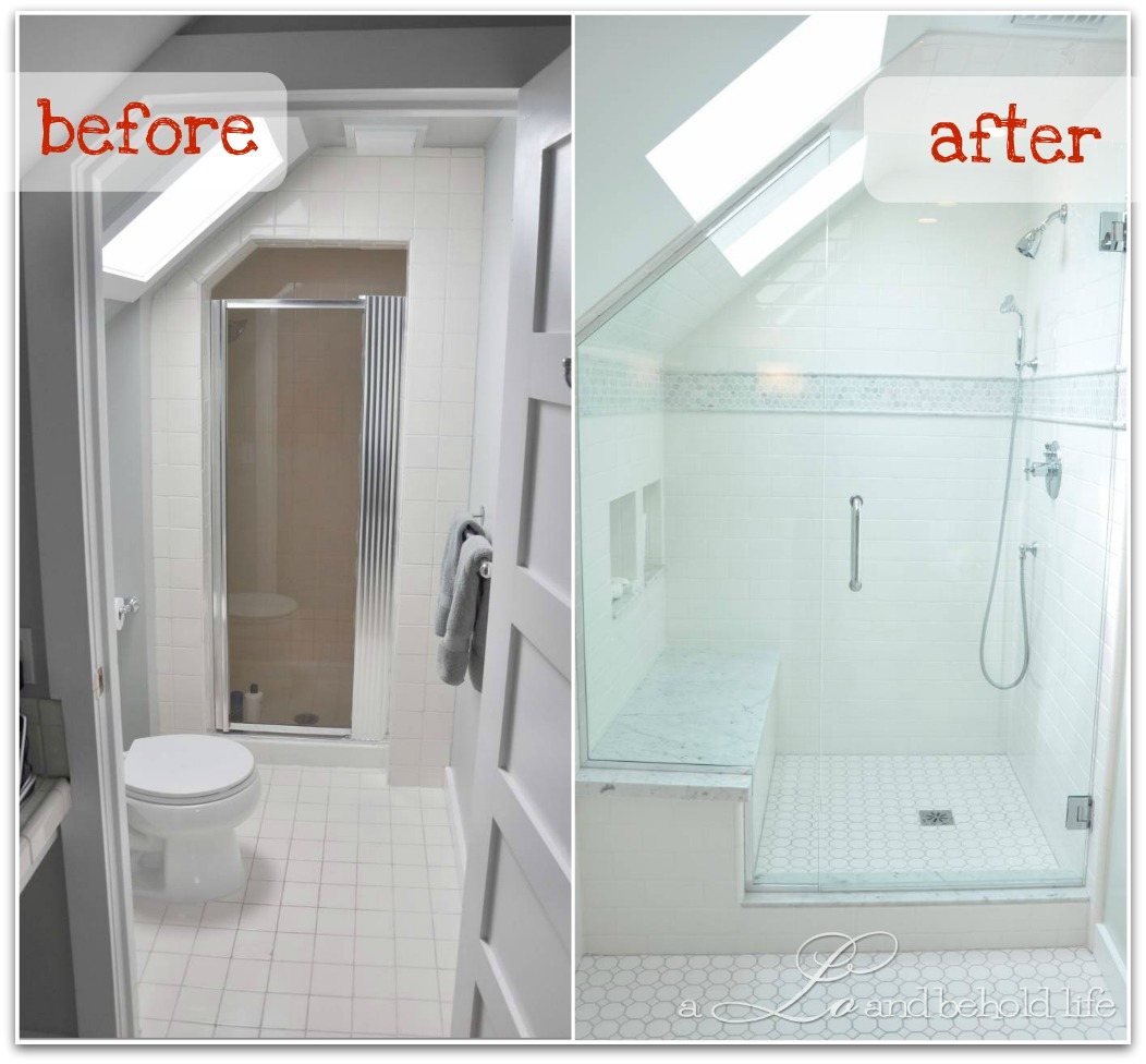 Renovation Update: Bathroom Progress | A Lo and Behold Life