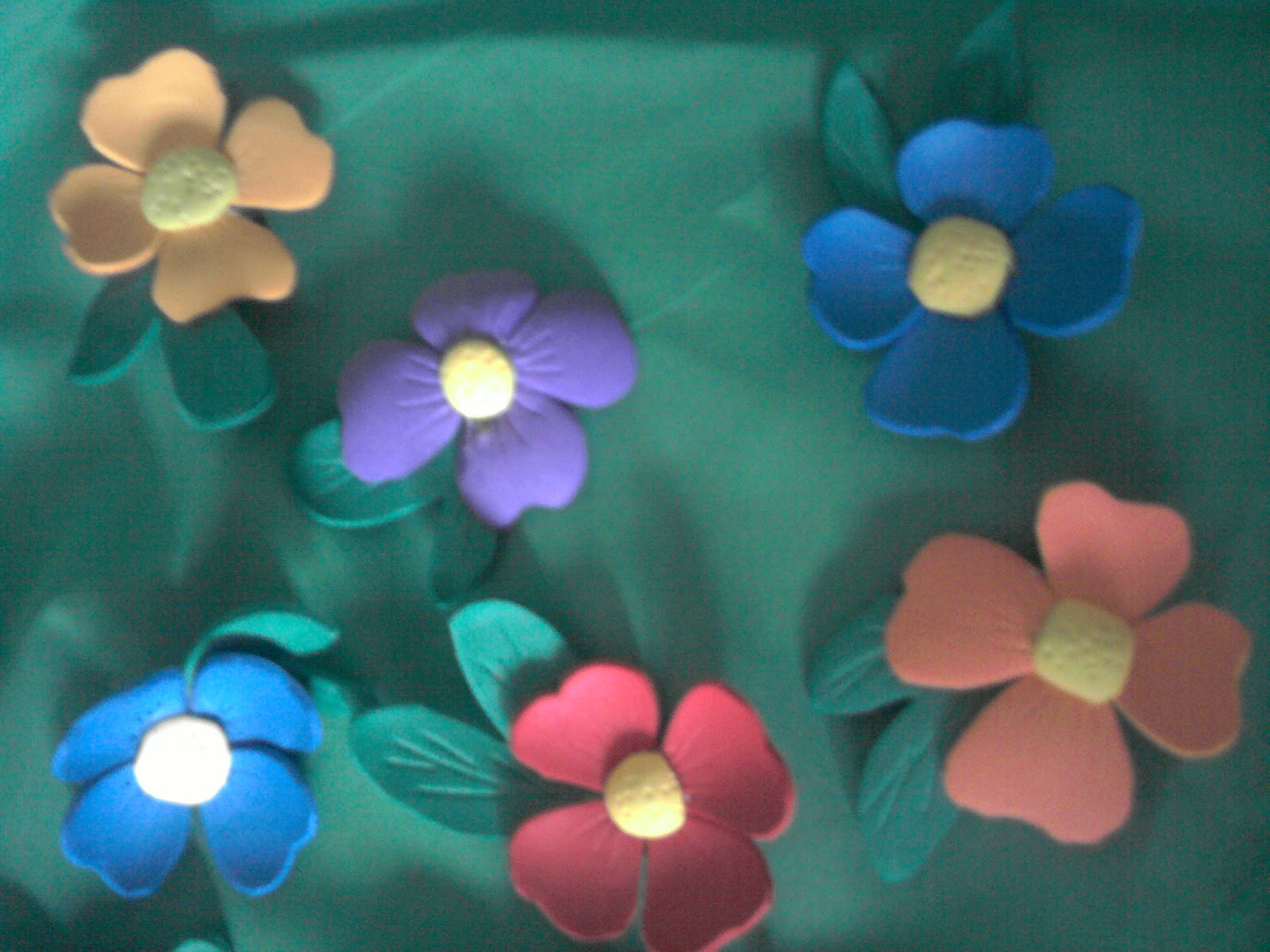 flores para pinzas del pelo o gomas