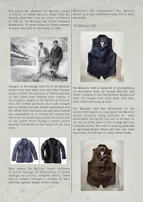 THE BUNKER NIGEL CABOURN マロリーベスト