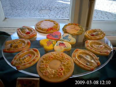Таллин, 08.30.2009, Калев, Марципаны, выпечка, Kalev shop, Tallinn, Estonia, marzipan cookies, Эстония