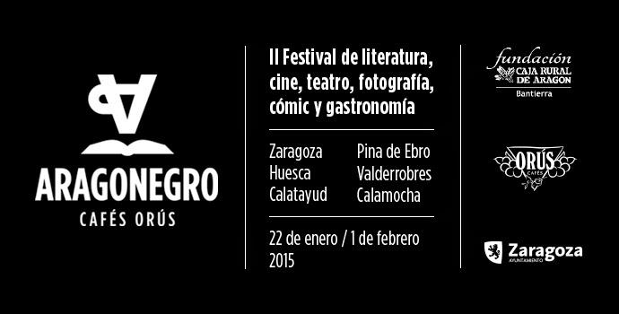 Festival de novela negra - Aragón Negro 2015 Banner-aragon-negro