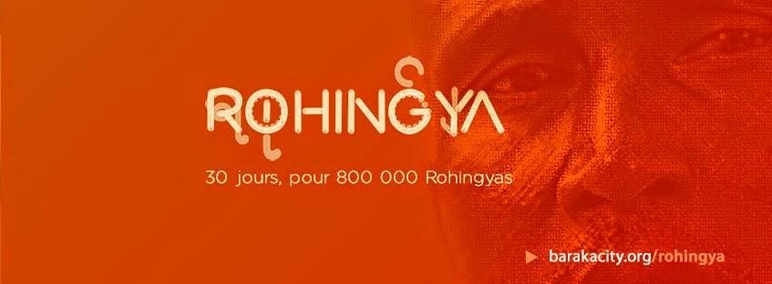 30 jours 800 000 Rohingyas