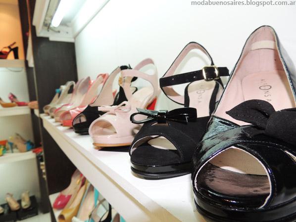 Zapatos 2014. Moda verano 2014 Alfonsa Bs As.