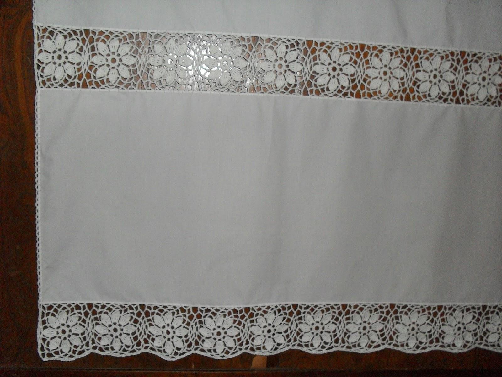 Como hacer una cortina a crochet como hacer visillo - Como hacer visillos ...