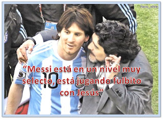 Los `grandes´  del fútbol hablan de Lionel Messi