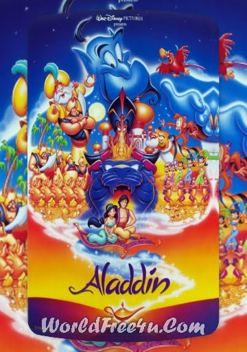Poster Of Aladdin (1992) Full Movie Hindi Dubbed Free Download Watch Online At worldfree4u.com