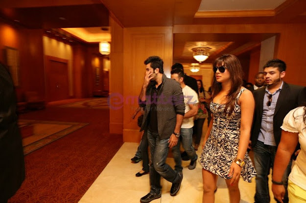 Priyanka and Ranbir - Ranbir Kapoor & Priyanka Chopra for Barfi Promotion in Dubai