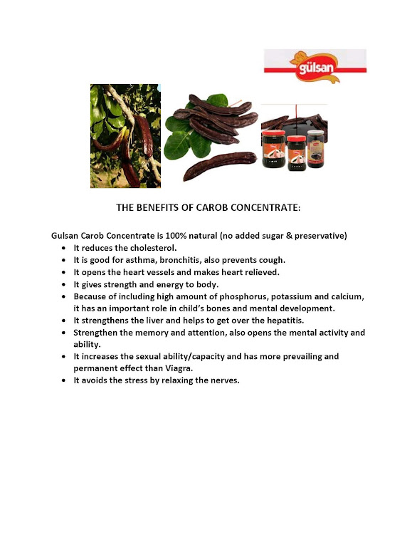 Carob Concentrate