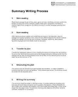 How ot write a process essay