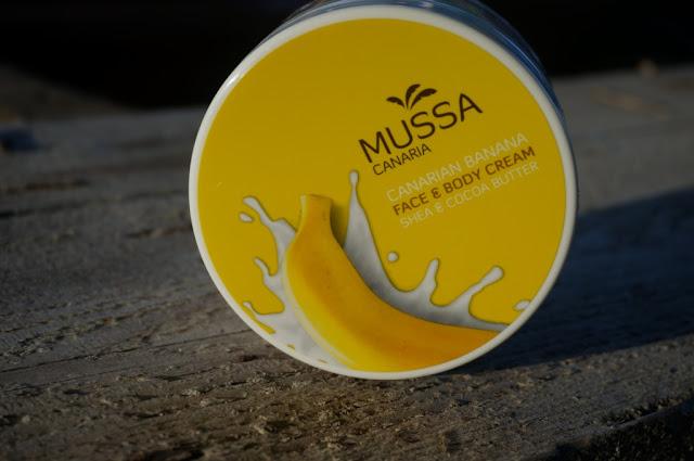 Bananowe masło do ciała Mussa Canaria - egzotyczna pielęgnacja ciała