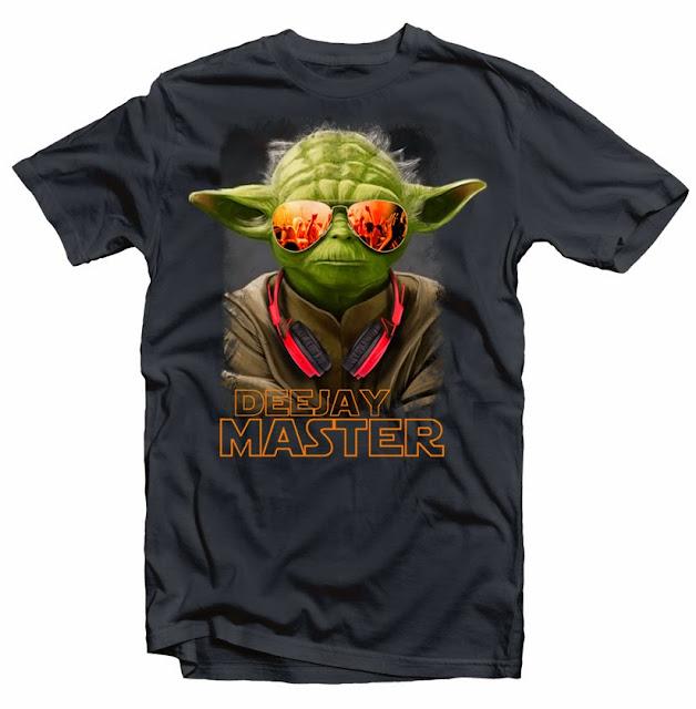yoda deejay tshirt art