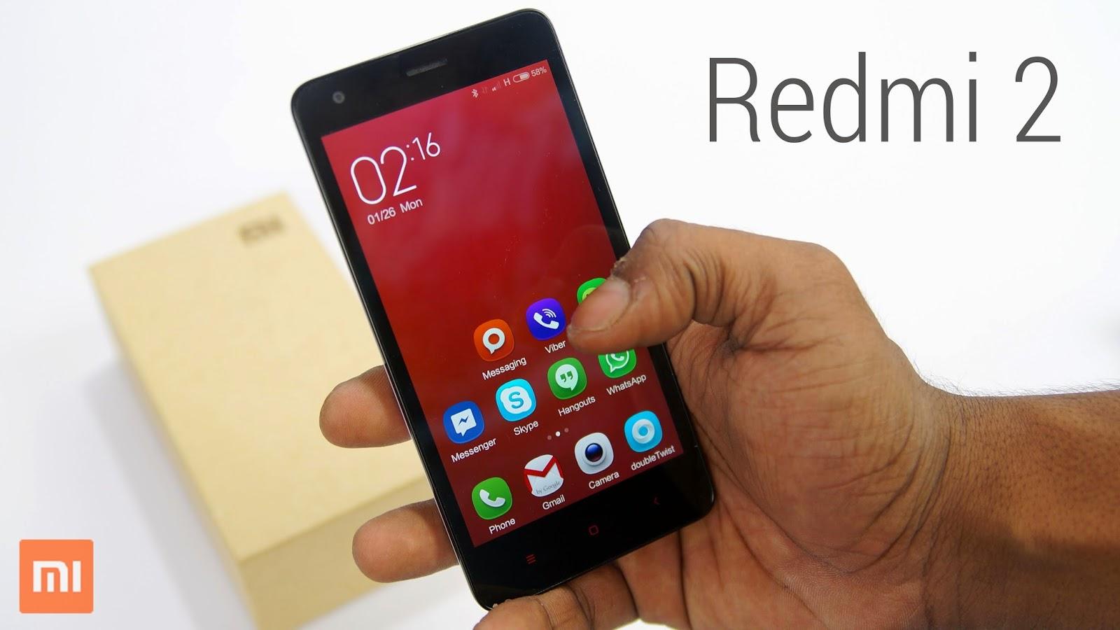 Kelebihan Xiaomi Redmi 2 Dibanding Xiaomi Redmi 1S