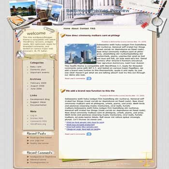 For the Justices blogger template. converted WordPress to Blogger template. template business for blog