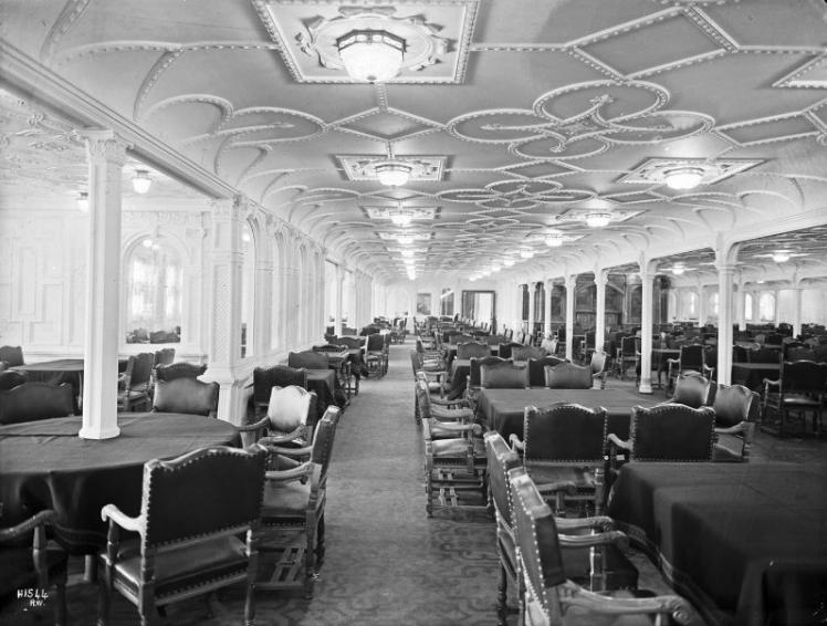 buanatri mengintip kemewahan interior dari kapal titanic
