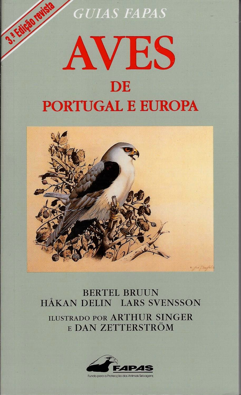 Aves de Portugal e Europa – Guia FAPAS