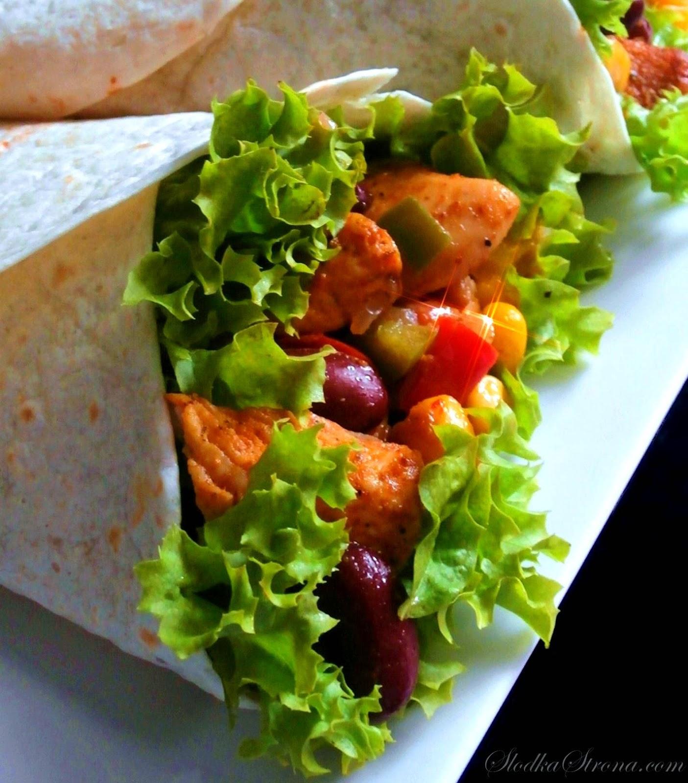 Tortilla Meksykańska - Przepis - Słodka Strona