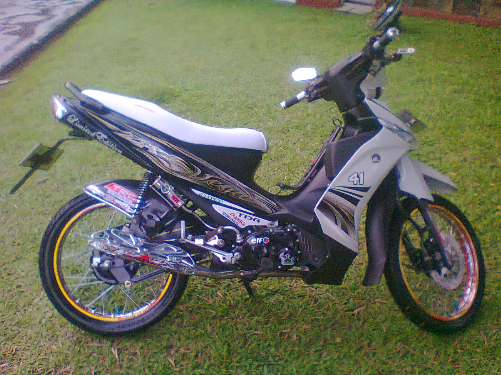 Photo set Modif Yamaha Vega R, RR, 2014 Latest ZR | Drag Race
