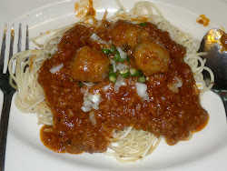 spagehtti meat ball