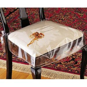 Clear Plastic Dining Room Chair Seat Chair Pads Cushions