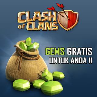 Trik Mendapatkan Banyak Gems Clash Of Clash Gratis Work 100%