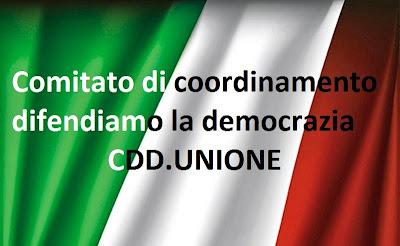 CDD Comitato di Coordinamento Difendiamo la Democrazia DUE