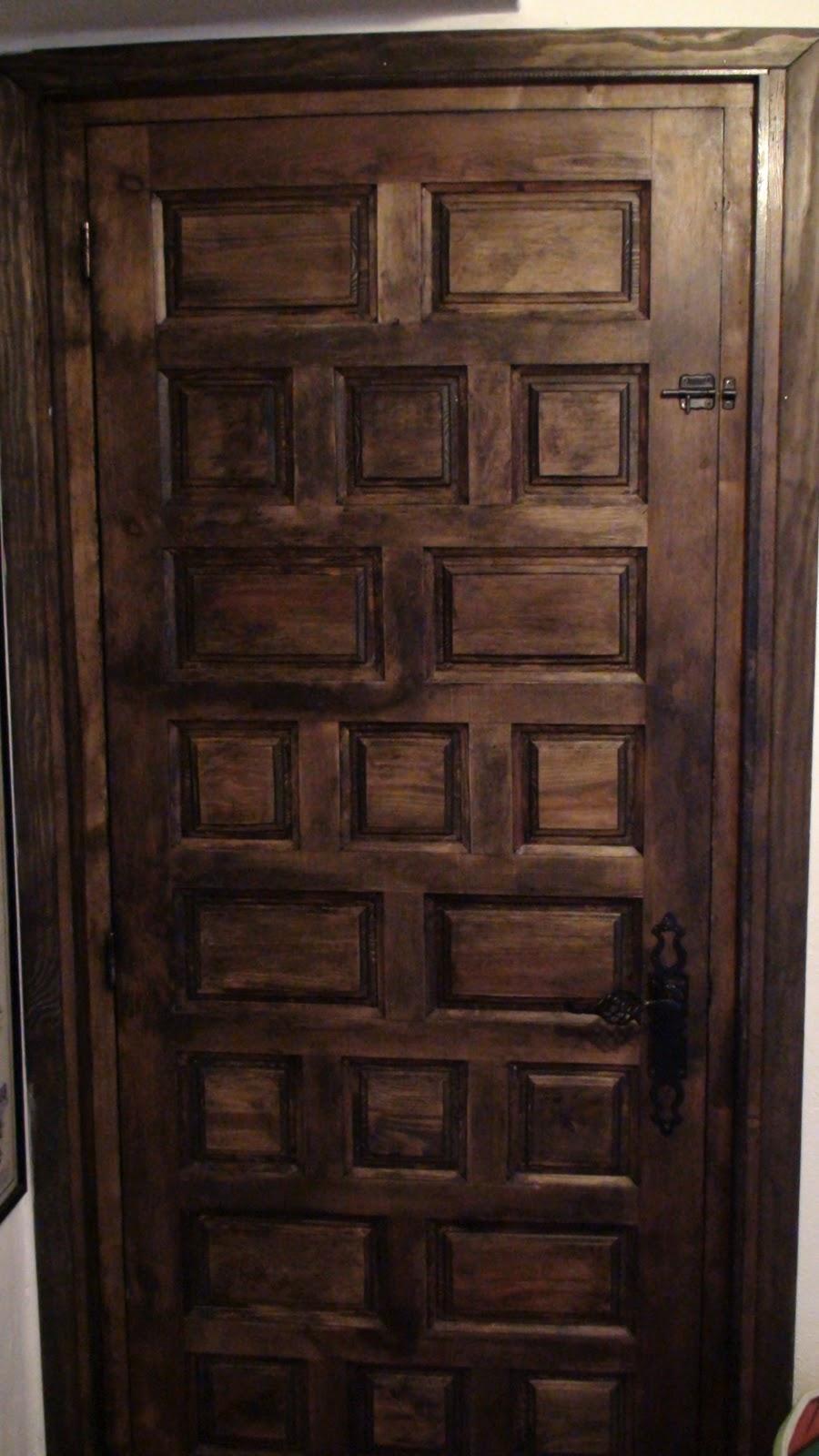 EL BRICOLAJE EN TUS MANOS: Revestir 2 marcos de puerta y colocar ...