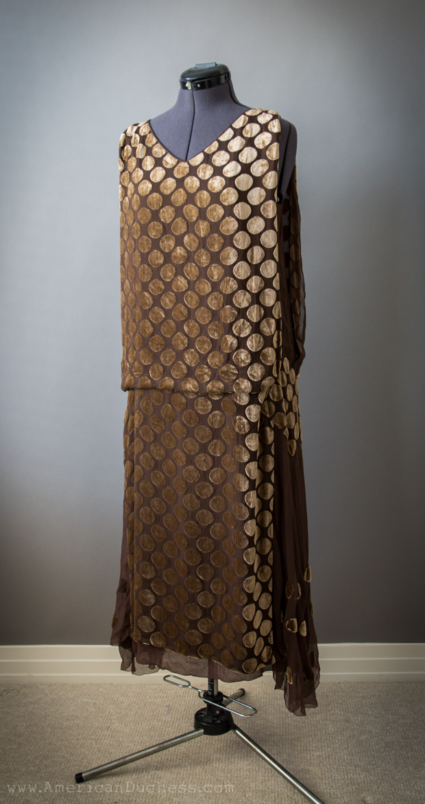 Early 1920s Tabard Gown - a Wonderful Gift! ~ American Duchess