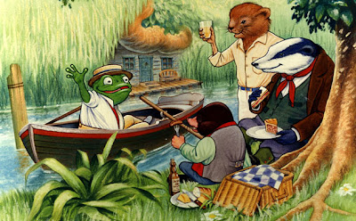 The Wind in the Willows Cartoon