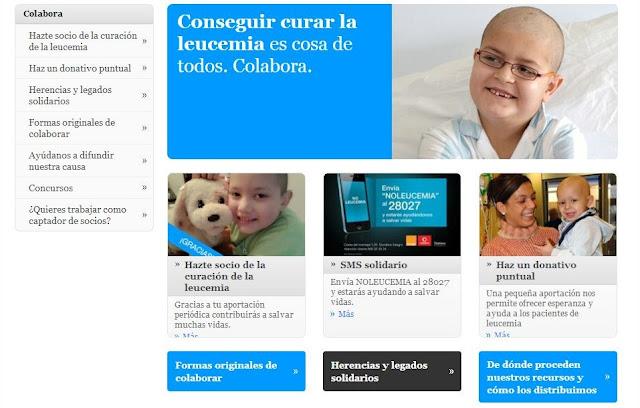 colabora- Fundación Josep Carreras contra la leucemia
