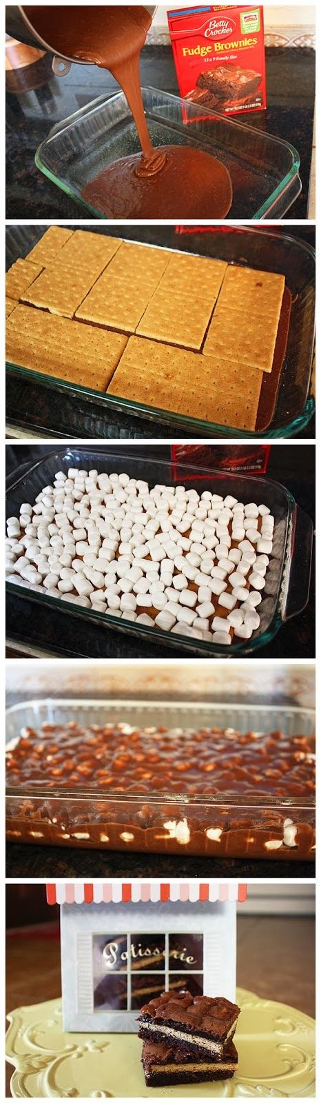 How To Inside Out S Mores Bars