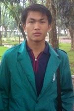 Salman Silaban, salah seorang mahasiswa jurusan fisika di Univesitas Negeri Medan, Sumatera Utara