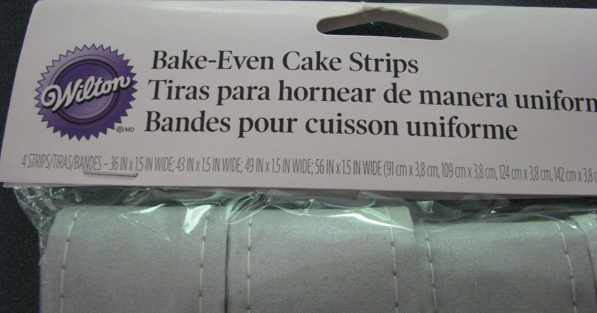 How To Make Bake Even Cake Strips