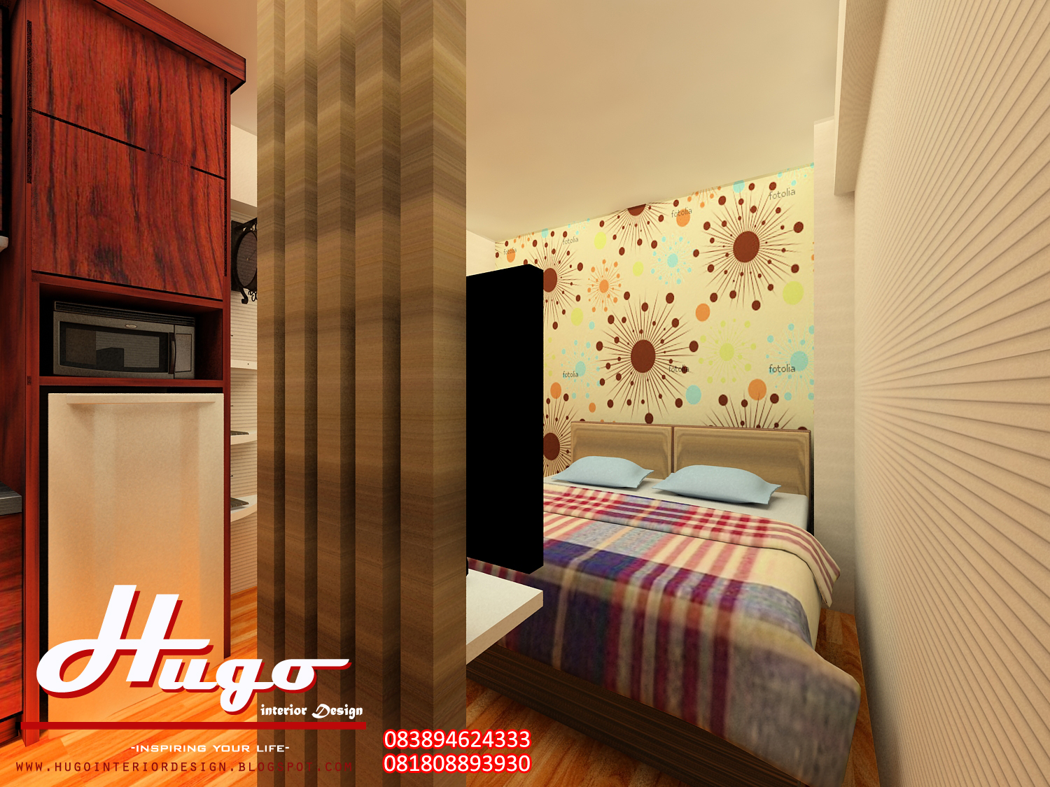 Design Interior Apartment Green Bay Pluit