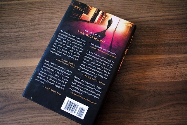 An honest book review of Robert Galbraith's Career of Evil, the third book in the Cormoran Strike series.