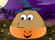 juego Pou Halloween Costume