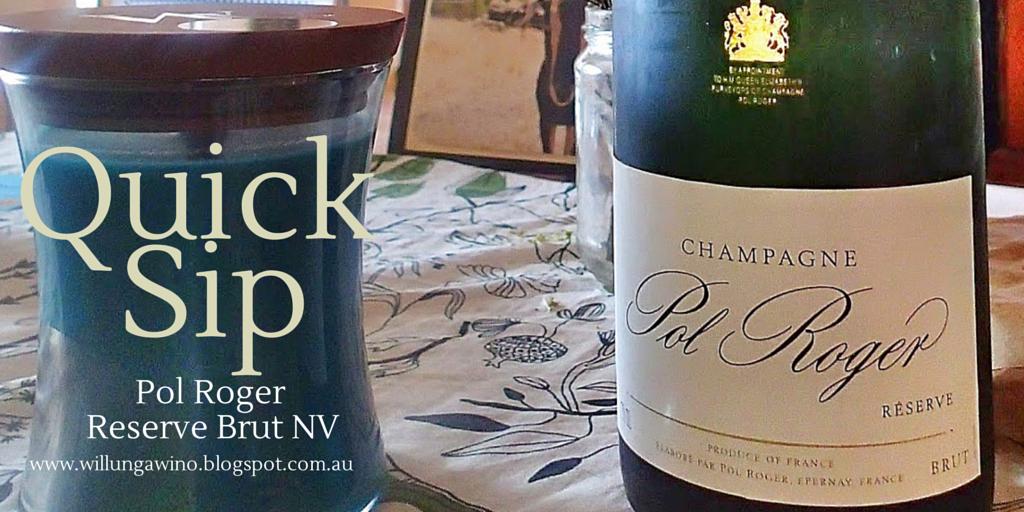 Pol Roger Reserve Brut NV Champagne Wine Tasting Review