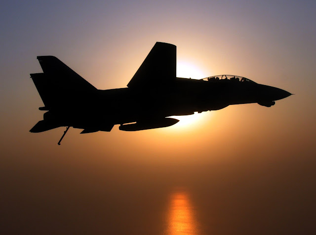 F-14D Tomcat in the sun.