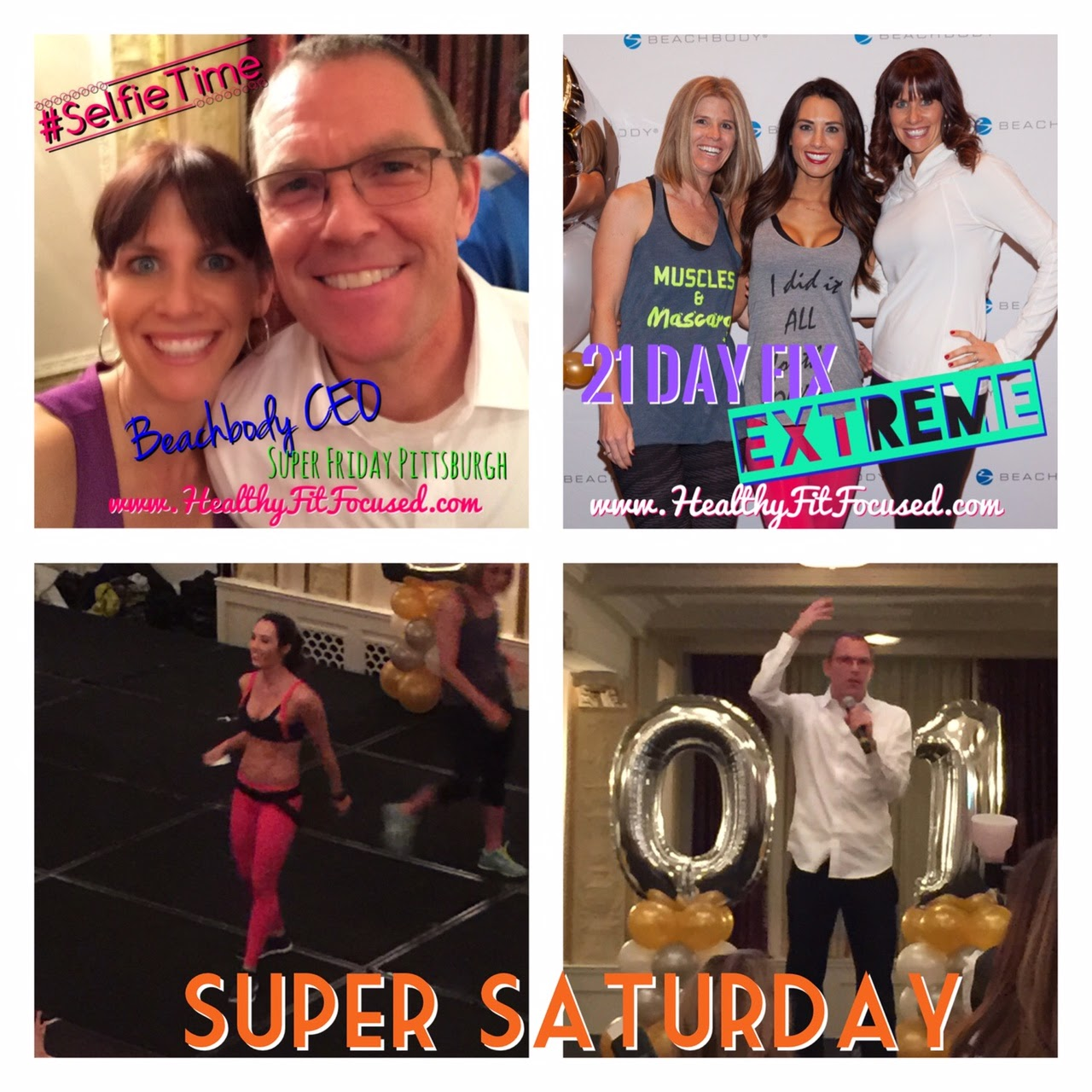 Super Staurday, Beachbody.  Celebration with Carl Daikeler, Autumn Calabrese and the Dream Team, www.HealthyFitFocused.com