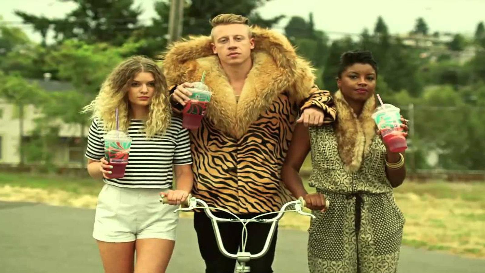 Movers Move: Macklemore - Thrift Shop Lyrics