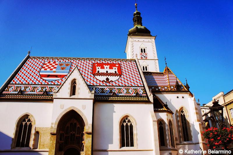 Church of St. Mark Zagreb Croatia