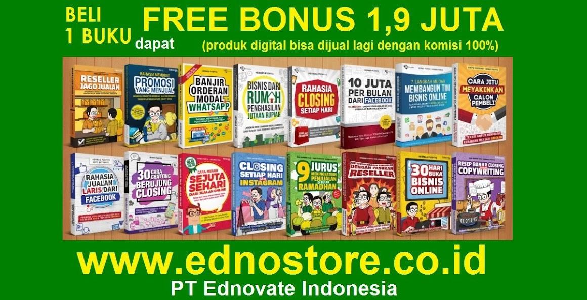 Belajar Bisnis GRATIS Halal Hasil Berkah Melimpah | Resmi PT Ednovate Indonesia | Ednovate Store