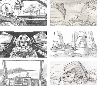 Storyboard - Star Wars - Battle of Hoth