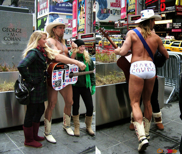 Times Square - Naked Cowboy
